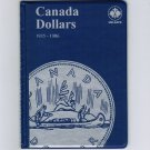 Uni-Safe Canada 1 Dollar Coin Album Folder 1935-1986
