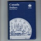 Uni-Safe Canada 1 Dollar Coin Album Folder Blank/No Date