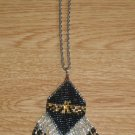 Eagle beads loomed pendant
