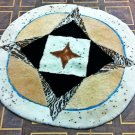 Natural sheep skin New design  rug,patch work rug, round rug,area carpet free shipping
