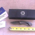 Stone River Gear Ceramic Money Clip Folding Knife With Titanium Handles SRG1MCBS