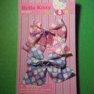 hello kitty 2 pcs barrettes girls kids childs hair accessories pink blue school