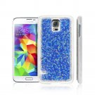 Deluxe Clear Crystal Diamond Bling Hard Cover Case For Samsung Galaxy S5