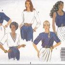 Butterick Pattern 5278, Misses'/Misses Petite Tops, Size (12-14-16) UNCUT