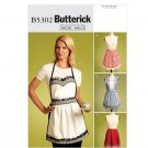 Butterick Sewing Pattern B5302 - Misses' Aprons (S-L)