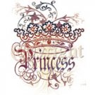 goth princess crown tshirt