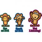 monkey not listening tshir