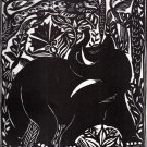 Raul Dufy - L' Elephant' - Le Bestiaire Woodcut