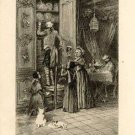 Felix Buhot-Les vieux - Etching - 1882