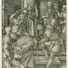 Albrecht Durer - Christ before Annas - Woodcut - engraving