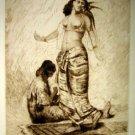 Thomas Moran -  Moorish  Woman Dancing