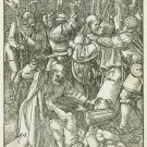 Albrecht Durer - Betrayal of Christ - Woodcut