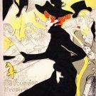 Henri Toulouse Lautrec Divan Japonais  Lithograph