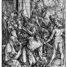 Albrecht Durer- Bearing The Cross  - Woodcut