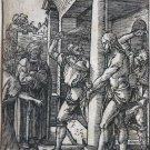 Albrecht Durer - The Flagellation - Woodcut