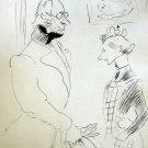 """Toulouse-Lautrec """"La Visite du Medecin"""" Limited Edition Lithograph"""