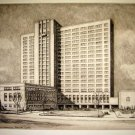 Ernest David Roth - Mayo Memorial Medical Center - Etching