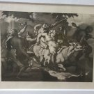 "Théodore Géricault ""Triumph of Abacus"" Etching & Aquatint"
