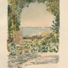 Child Hassam - Shady Spot - 1894 Chromolithograph