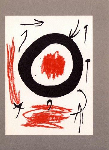 Miro # 5 Liberté des Libertés -Limited Edition Lithograph
