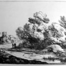 Thomas Gainsborough R.A. -Wooded Landscape -  Soft Ground Etching