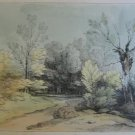 Thomas Gainsborough R.A. - Country Path -  Soft Ground Etching