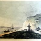 Thomas Gainsborough R.A. - Lake View -  Soft Ground Etching