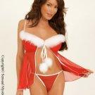 Santa Flyaway Babydoll