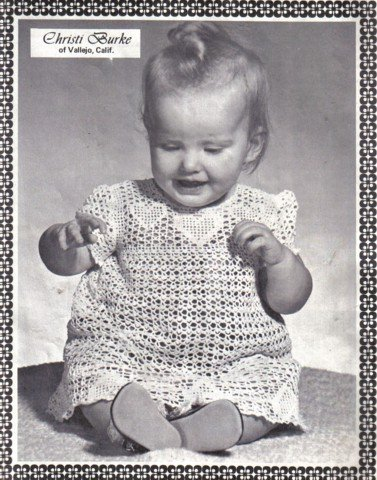 Infants and Girls Crochet Patterns Elizabeth Hiddleson