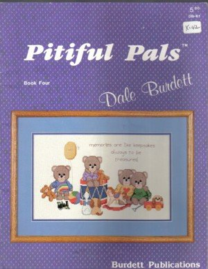 Pitiful Pals � Book Four Teddy Bears to Cross Stitch