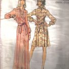 Misses' Vintage Dress Pattern  in 2 lenghths   Size 10 Simplicity 5909