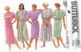 Butterick 3626 Classic  Misses� Dress Pattern  Size 8, 10, 12 uncut