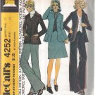 Size 12 McCall's Vintage Misses' Unlined Jacket, Skirt, Vest & Pants