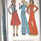 McCall's Vintage 1975 Jacket, Vest, Skirt & Pants  Misses' 12 - uncut