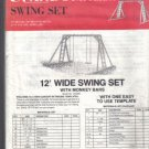 U Cando Swing Set Template  – No ruler or measurements