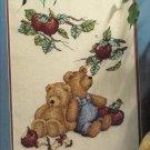 Apple of His Eye    Teddy Bears to Cross Stitch
