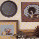 Country Primitives Cross stitch patterns by Pat Pearson
