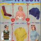 Vintage Chadwicks Nylon Hand Knits for Everybody no 286 - 1952