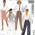 Pants, Shorts, Sash and Belt  Sewing Pattern McCalls 6625 Size Large 16 -18 Uncut