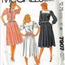 McCall's Misses' Pullover Dress  Size 12 Uncut