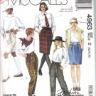 McCall's Misses' Skirts, Pants and Shorts Pattern  Size 12, 14, 16 Uncut