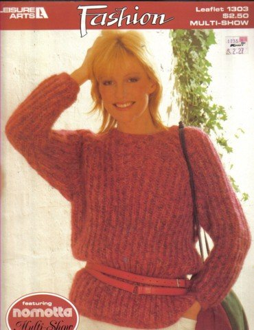 2 Pullover  Sweaters  Knitting Pattern   Medium & Large