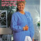 "New Dimensions Fashions to Knit in sizes 32"" - 58"""