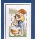 2 Treasured Threads Cross Stitch Patterns - Puppy Love  & Puppy Pals