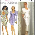 Simplicity  8563 Jessica McClintock 2 Piece Dress Pattern Size 6-10 uncut