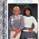 3 Cozy Sweaters to Crochet for Winter Warmth Patterns Small, Medium and Large