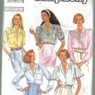 Simplicity 9857 Misses' Blouse  Pattern Size 10 - 18  Uncut 5 Views
