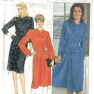 Butterick  6125 Misses' Dress Pattern with Blouson bodice Cowl Neck  Pattern Size 12 Uncut