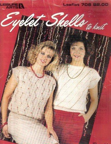 Eyelet Shells to Knit  Knitting Patterns
