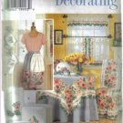 Simplicity 7556 Home Decorating - Donna Lang Intreior Design  - uncut